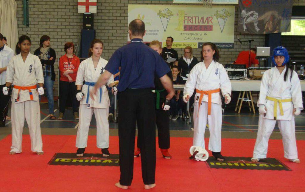 Lady Sanjana - Kyokushin karate
